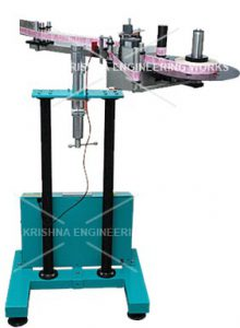 Lable Roll Dispensor Machine